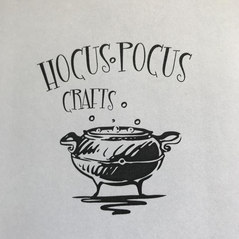 Hocus Pocus Craft